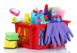 House Cleaning Tools & Detergents